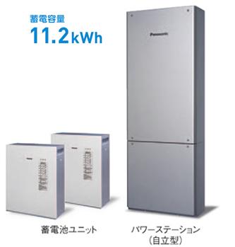 蓄電容量11.2kWh